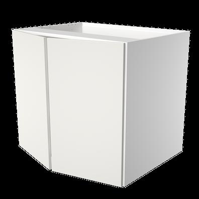 Vaskeskap med 2 dører