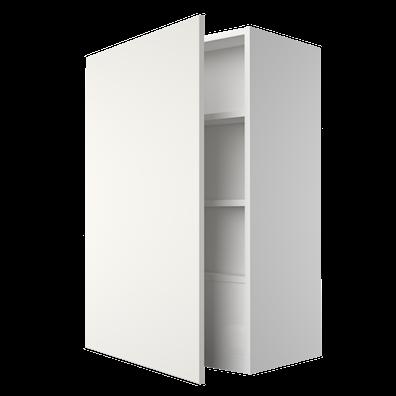 Ventilatorskap 86,4 cm høyt med dør og 3 hyller