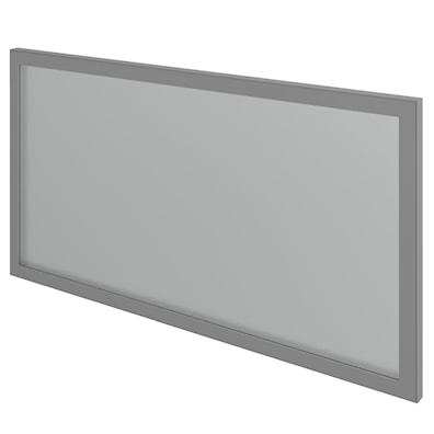 Alu vitrinedør høyde 31,6 cm