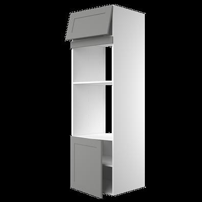 Høyskap 195,2 cm høyt med dør til ovn/mikrobølgeovn