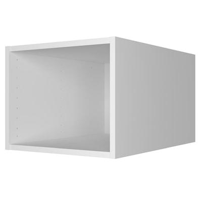 Toppskap – dybde 56,5 cm, veggmontering, uten dør