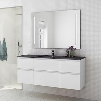 Badeværelsesmøbel 140 cm med skuffer