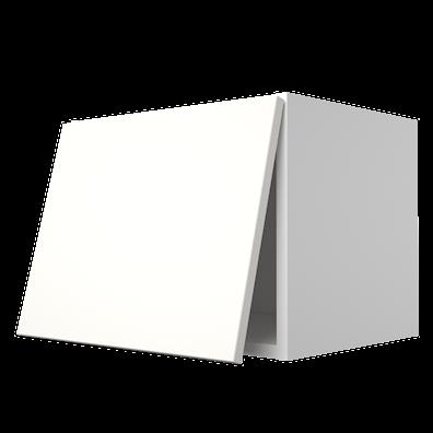 Toppskap dybde 33 cm med topphengslet dør og oppheng
