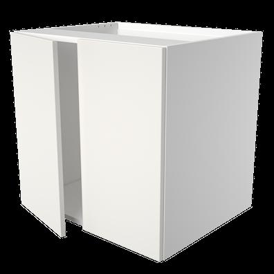 Håndvaskskap 47,5 cm dypt med 2 dører