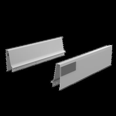 Sider og softlukk-skinner til 33 cm dyp skuffe