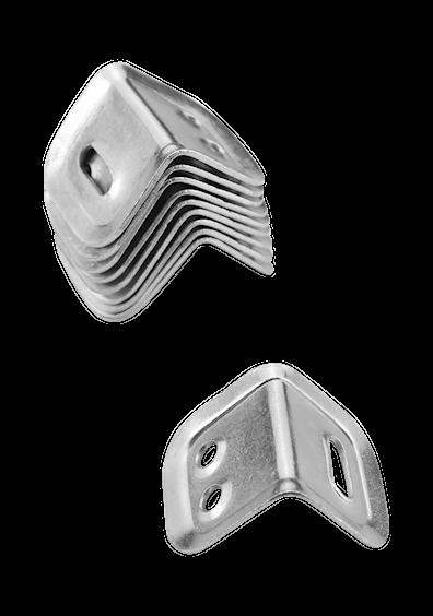 Monteringsvinkler til bordplader (10 stk)