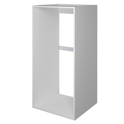 Høyskap 124,8 cm høyt uten dør til integrering av kjøl/frys