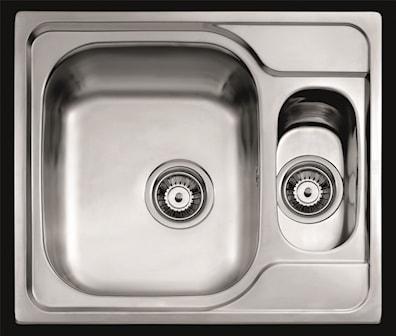 Kjøkkenvask Intra universo 150WT med strainer